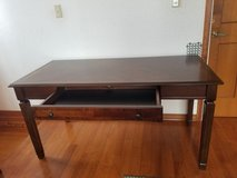 Executive wooden desk in Okinawa, Japan