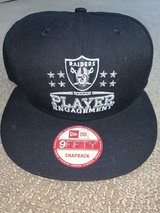 RAIDERS NEW ERA 9FIFTY SNAPBACK HAT in Travis AFB, California