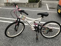 Old bicycle in Okinawa, Japan