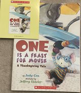 One Is a Feast for Mouse: A Thanksgiving Tale (Adventures of Mouse) Books & CD in Okinawa, Japan