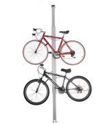 Aluminum Vertical Bike Stand Bicycle Rack Storage or Display Holds Two Bicycles in Ramstein, Germany