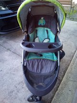 Easy ride Stroller and car seat+base in Camp Lejeune, North Carolina