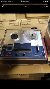 Antique Sony tapecorder TC-280 in Plainfield, Illinois