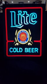 Beer Sign in Fort Campbell, Kentucky