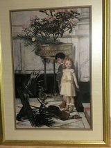 Framed Picture of Boy and Girl in Kingwood, Texas