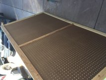 "88"" x 48"" peg board. in Alamogordo, New Mexico"