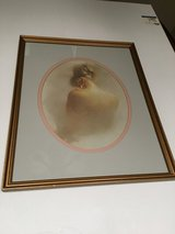 Framed Picture of Lady in Kingwood, Texas