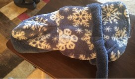 XS Fleece Dog Coat/Robe in Oswego, Illinois