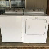 Matching Maytag HE Washer and Dryer in Fort Polk, Louisiana