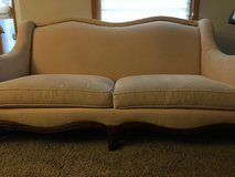 Cream couch in Plainfield, Illinois