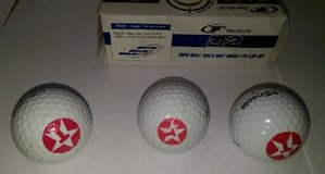 TEXACO Logo on Golf Balls (3 Pcs) in Kingwood, Texas