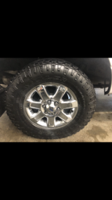 4 Goodyear  A/t tires 295/65/18 tires only in Joliet, Illinois