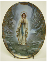 Our Lady of Lourdes Collector Plate in Naperville, Illinois