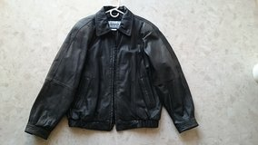 Leather Motorcycle Jacket in Okinawa, Japan