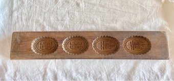 Antique Rice Cake Mold in Okinawa, Japan