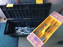 Tool box and spanners in Lakenheath, UK
