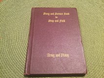 1942 WW2 Issued Song and Service Book for Ship & Field Hardcover in Ramstein, Germany