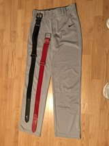 Nike XL Boy's Baseball pants and belts in Naperville, Illinois