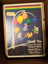 1976 Vintage Dolly Toy Raggedy Ann and Andy Musical Mobile in Fort Polk, Louisiana