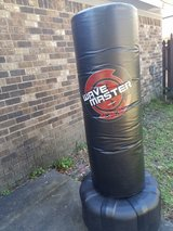 Kicking and punching stand in Hinesville, Georgia