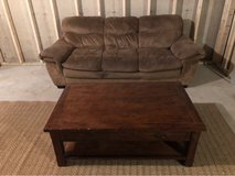 couch / coffee table in Plainfield, Illinois