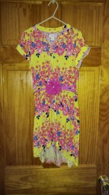 Yellow and Pink Floral High Low Dress - Size 6 NWT in Beaufort, South Carolina