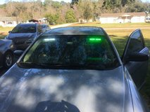 Green and white leds in Beaufort, South Carolina