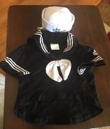 XS Dog Sailor Outfit in Joliet, Illinois