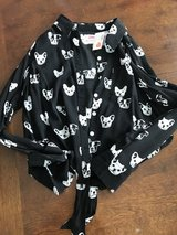 NWT Justice French Bulldog Shirt in Joliet, Illinois