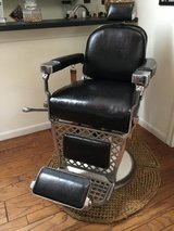 Barber Chair, Emil J Paidar 1949 in The Woodlands, Texas