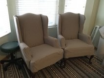 Wing chairs in Naperville, Illinois