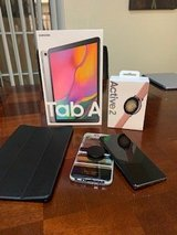 Samsung Tab A, Galaxy S10 Plus and 40mm Active 2 Watch in 29 Palms, California