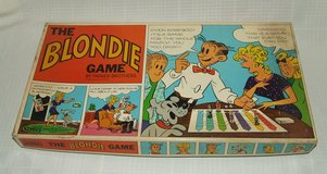 The Blondie Board Game Parker Brothers 1969 Chic Young Comic Strip Dagwood in Plainfield, Illinois