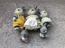Calico Critters - Cottontail Family in Plainfield, Illinois