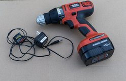 Black & Decker cordless drill $30 in Cherry Point, North Carolina