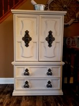 Refinished 5 drawer dresser/ Armoire in Plainfield, Illinois