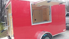 6' X 12' Vending Trailer - NEW! in Fort Campbell, Kentucky