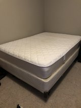 Full Size Mattress, Box Spring, & Bed Frame in Plainfield, Illinois