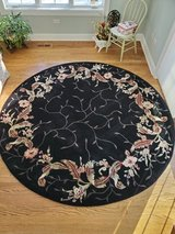 8' Round Norison Wool Rug in Plainfield, Illinois
