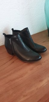 Lucky Brand Leather Boots new in box in Ramstein, Germany