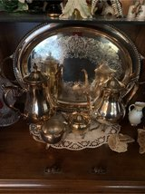silver tea/coffee set in Grafenwoehr, GE