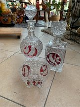 crystal decanters set in Grafenwoehr, GE