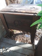 Wooden drink cooler in Kingwood, Texas