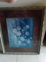 Framed flower picture in Leesville, Louisiana