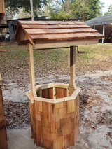 wishing well in DeRidder, Louisiana