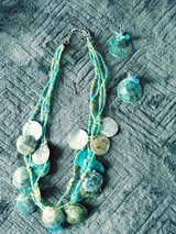 Necklace and Earrings Set in Oswego, Illinois