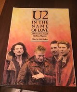 U2 In the Name of Love Book in Plainfield, Illinois