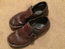 TIMBERLAND MEN'S BROWN SMART COMFORT FISHERMAN SANDALS SIZE 11M in Alamogordo, New Mexico