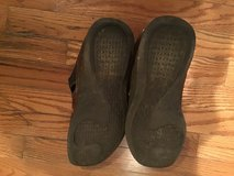 CLARKS MEN'S BROWN DISTRESSED LEATHER SANDALS SIZE 11.5M in Alamogordo, New Mexico