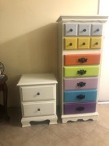 Lingerie chest and night stand in 29 Palms, California